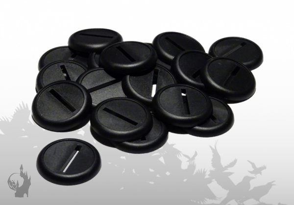 Lipped round base - 30mm (18)