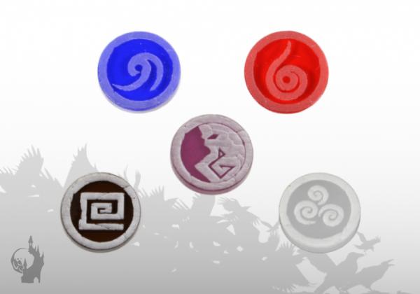 Fraction tokens (6)