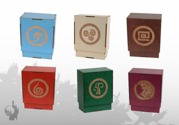MDF Kartenbox